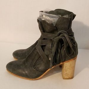 Free People FP Collection Seven Wonders Heel Boots